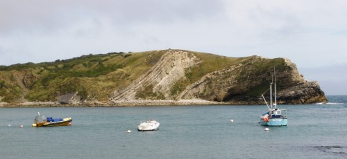 Lulworth Cove on The Jurassic Coast