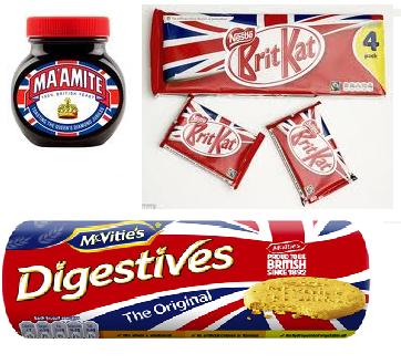 Daimond Jubilee Brand Packaging BritKat Maamite Digestives