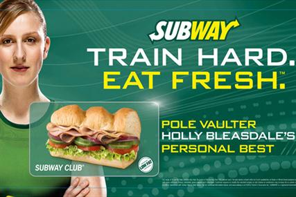 Subway Olympics Ad 2012