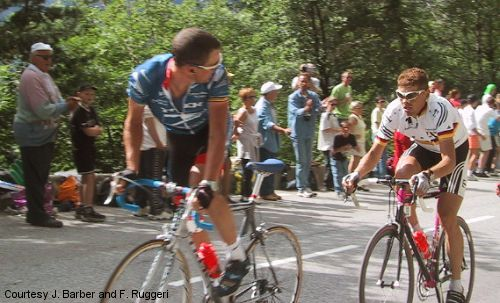 Lance Armstrong Jan Ullrich Tour de France The Look