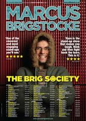 Marcus Brigstocke Tour Poster The Brig Society